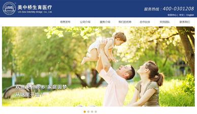 美中桥生育医疗网站制作官网